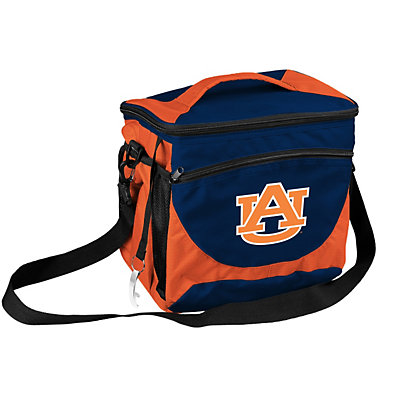 Logo Brand Auburn Tigers 24-Can Cooler