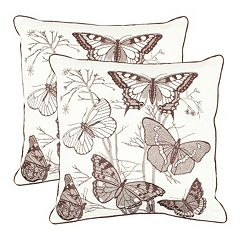 Flutter 2-piece Throw Pillow Set