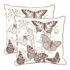 Flutter 2-piece Throw Pillow Set