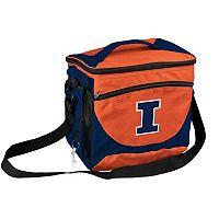 Logo Brand Illinois Fighting Illini 24-Can Cooler