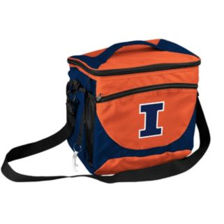 Logo Brand Illinois Fighting Illini 24-Can Cooler