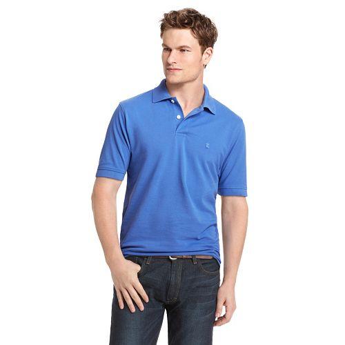 Men's IZOD Classic-Fit Solid Pique Polo