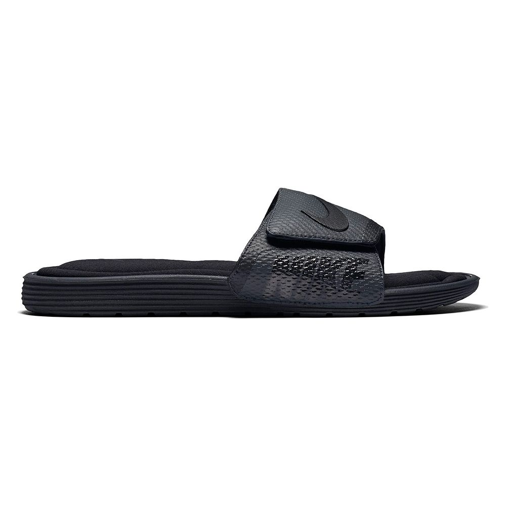 newest a2e04 160cf Nike Solarsoft Men s Comfort Slide Sandals