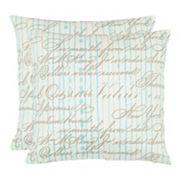 Camilla 2 pc Throw Pillow Set