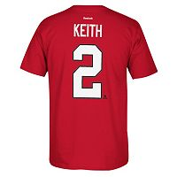 Men's Reebok Chicago Blackhawks Duncan Keith Premier Tee
