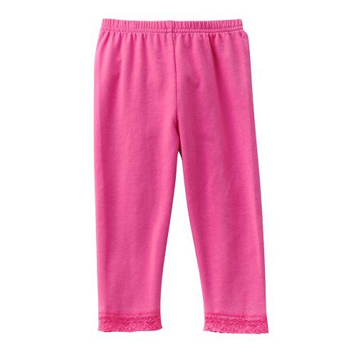 a0762253e3aa8 Jumping Beans® Lace-Trim Leggings - Baby