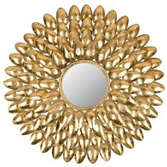 Safavieh Royal Leaf Starburst Wall Mirror