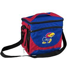 Logo Brand Kansas Jayhawks 24-Can Cooler