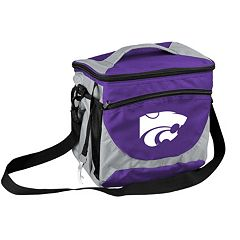 Logo Brand Kansas State Wildcats 24-Can Cooler