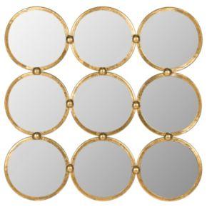 Safavieh Circles in Square Wall Mirror