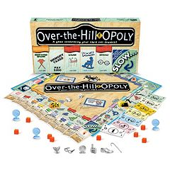 Over-the-Hill-Opoly Board Game