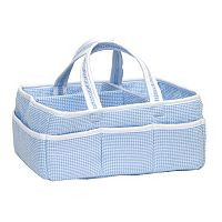 Trend Lab Seersucker Gingham Storage Caddy