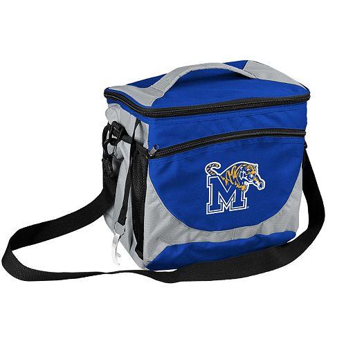 Logo Brand Memphis Tigers 24-Can Cooler