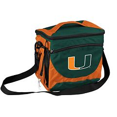 Logo Brand Miami Hurricanes 24-Can Cooler