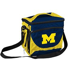 Logo Brand Michigan Wolverines 24-Can Cooler