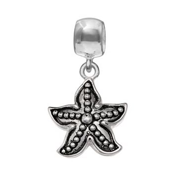 Individuality Beads Sterling Silver Starfish Charm