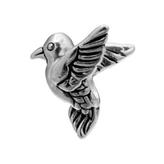 Individuality Beads Sterling Silver Hummingbird Bead