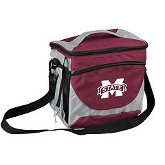 Logo Brand Mississippi State Bulldogs 24-Can Cooler