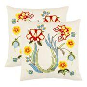 Vesta 2 pc Throw Pillow Set