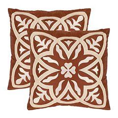 Draco Whirl 2-piece Throw Pillow Set