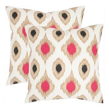 Miranda 2-piece 18'' x 18'' Throw Pillow Set