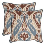 Charlie 2-piece 18'' x 18'' Throw Pillow Set