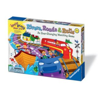 Rivers, Roads and Rails Game by Ravensburger