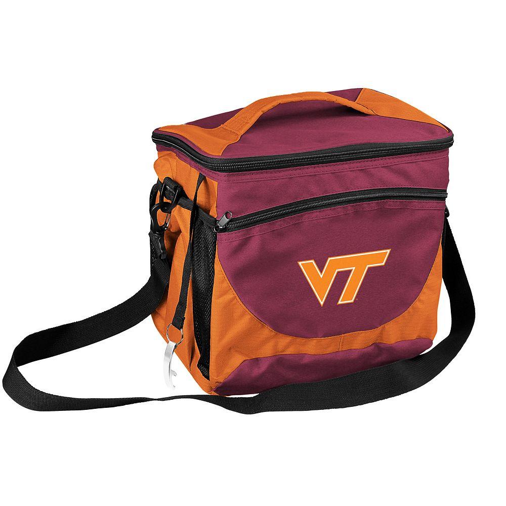 Logo Brand Virginia Tech Hokies 24-Can Cooler