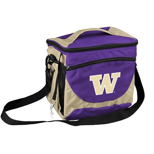 Logo Brand Washington Huskies 24-Can Cooler