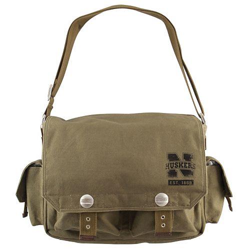 Nebraska Cornhuskers Prospect Messenger Bag