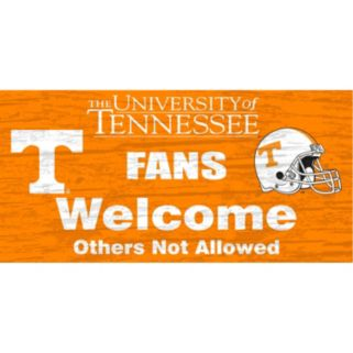 Tennessee Volunteers Welcome Sign Wall Art