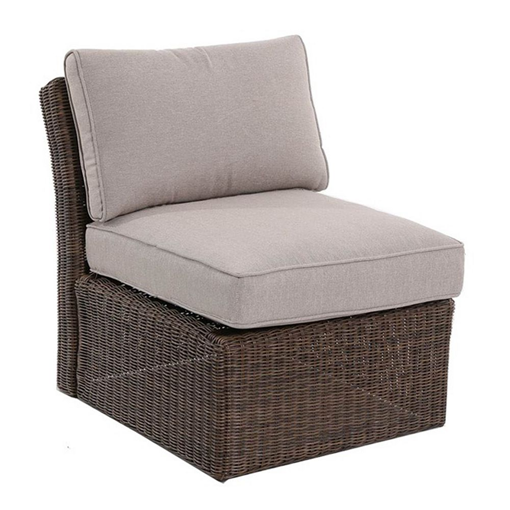 SONOMA Goods for Life® Brampton Armless Wicker Patio Chair