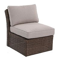 SONOMA Goods for Life™ Brampton Armless Wicker Patio Chair