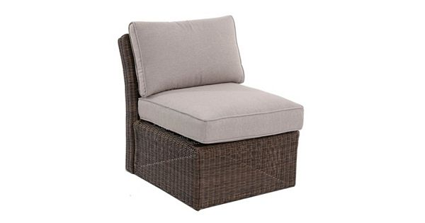 Sonoma Goods For Life Brampton Armless Wicker Patio Chair