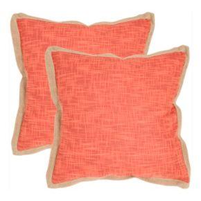 Madeline 2-piece 22'' x 22'' Throw Pillow Set