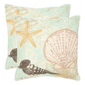 Eve 2-piece 18'' x 18'' Throw Pillow Set