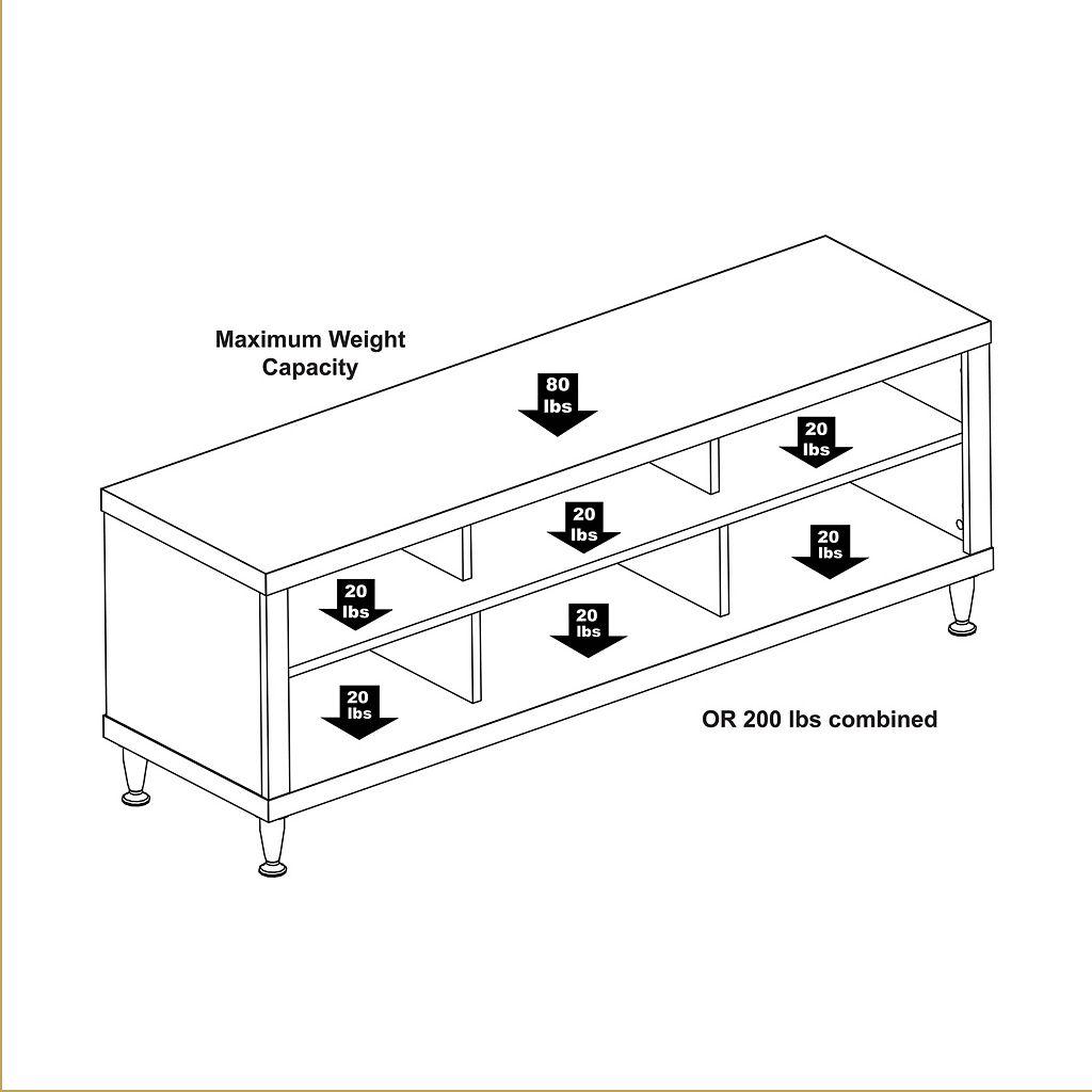 Prepac Series 9 Designer TV Stand