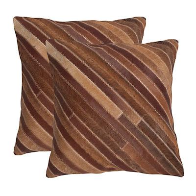 Cherilyn 2-piece 22'' x 22'' Throw Pillow Set