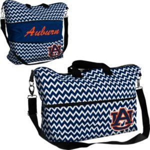 Logo Brand Auburn Tigers Chevron Expandable Tote