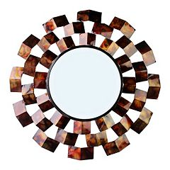 Metallic Wall Mirror