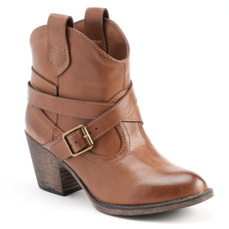 pull on ankle boots kohl s