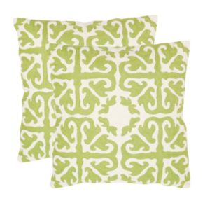 Moroccan 2-piece 18'' x 18'' Throw Pillow Set