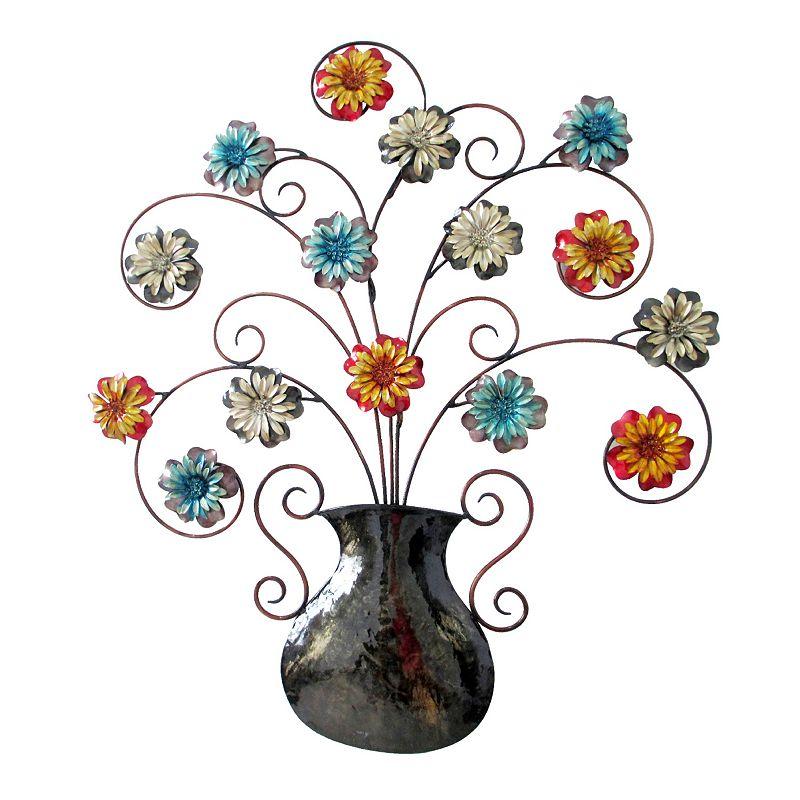 Metal Flower Wall Decor Kohls : Floral metal wall decor kohl s