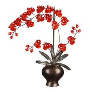 Orchid Metal Wall Decor