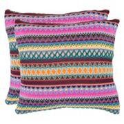 Mirabelle 2-piece 22'' x 22'' Throw Pillow Set