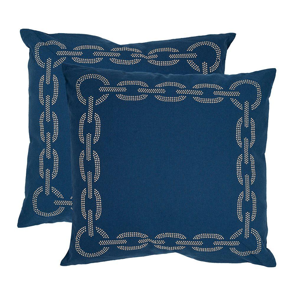 Sibine 2-piece 22'' x 22'' Throw Pillow Set