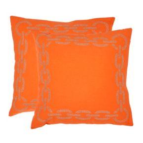 Sibine 2-piece 18'' x 18'' Throw Pillow Set