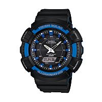 Casio Men's Illuminator Analog & Digital Solar Watch