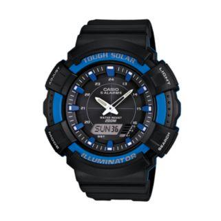 Casio Men's Illuminator Analog and Digital Solar Watch