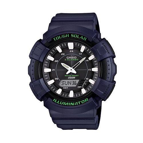 Casio Men's Illuminator Analog & Digital Solar Watch